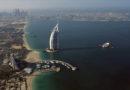 In taxi a trecento metri d'altezza sul Golfo Persico