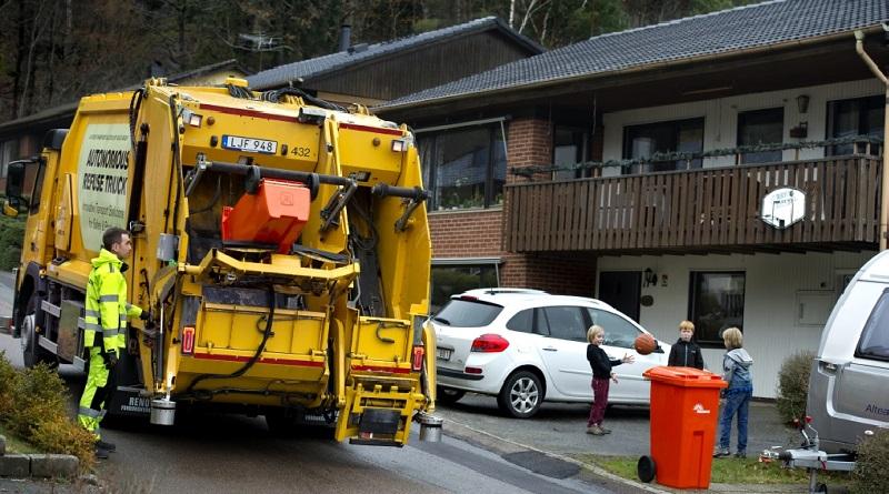 volvo trucks raccolta rifiuti automatizzata