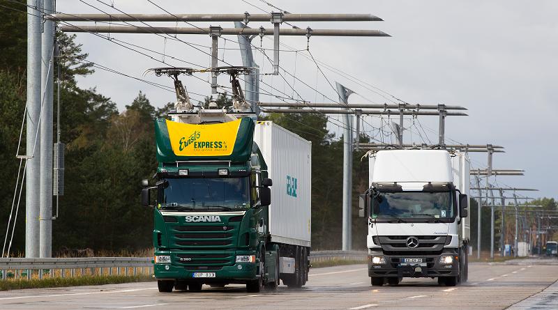 prima autostrada elettrica in Germania eHighway Siemens