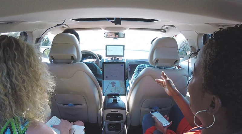 studio Intel passeggeri veicoli autonomi in Arizona