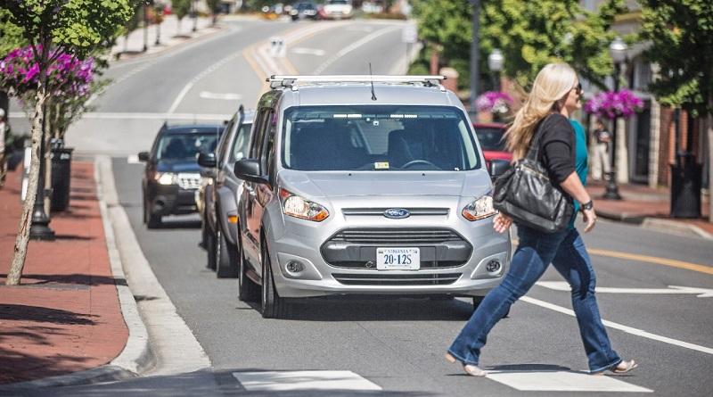 luci veicoli autonomi Virginia Tech Ford Motor Co.