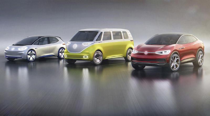 roadmap E Volkswagen Francoforte 2017