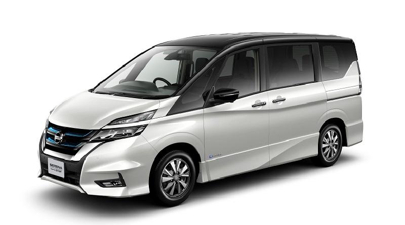 Nissan Serena e-Power salone auto di Tokyo 2017