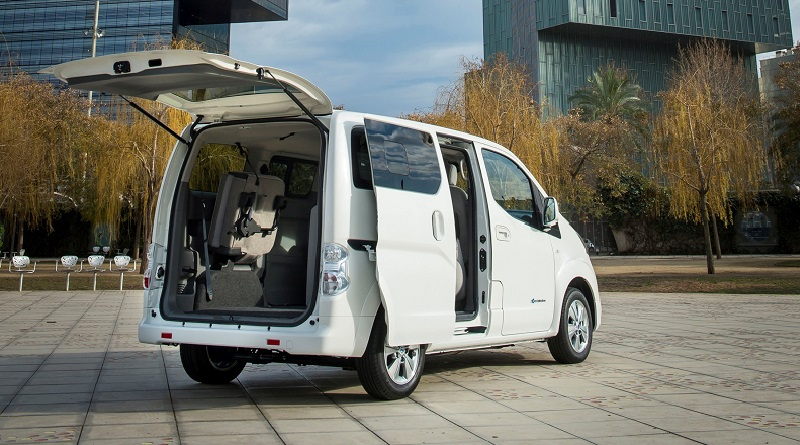 nuovo e-NV200 Nissan batteria 40 kWh