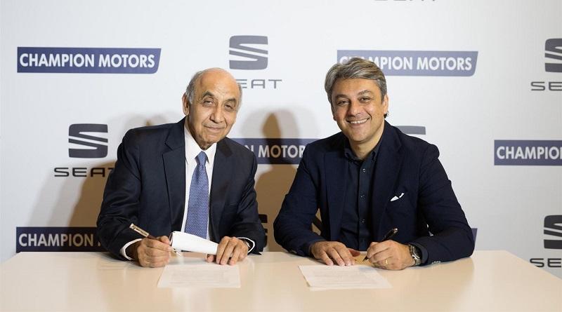 accordo startup Xplora SEAT Champion Motors