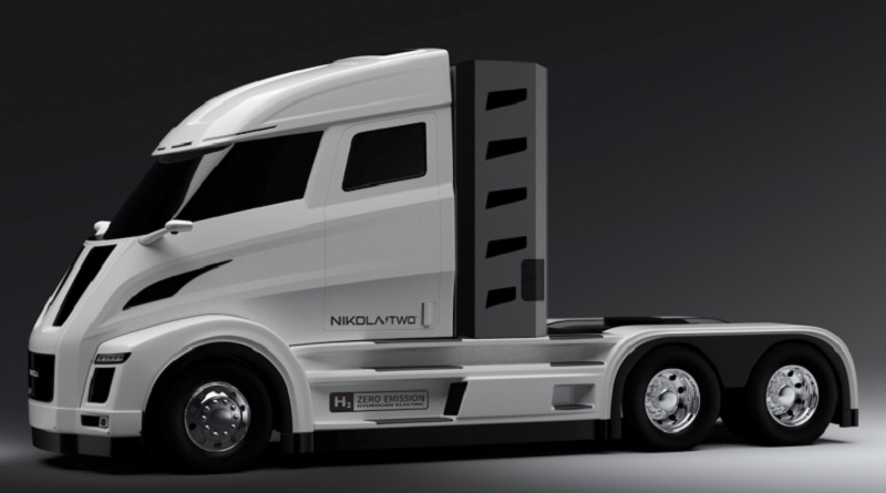 stack fuel cell PowerCell S3 camion Nikola Two