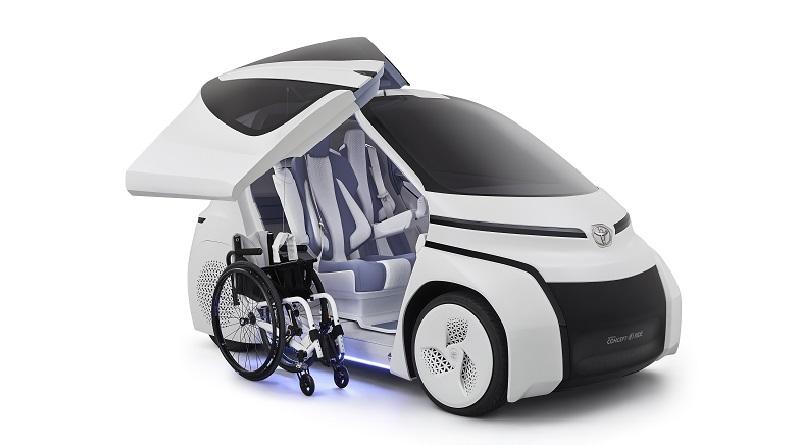 Concept i-Ride salone di Tokyo mobilità per tutti