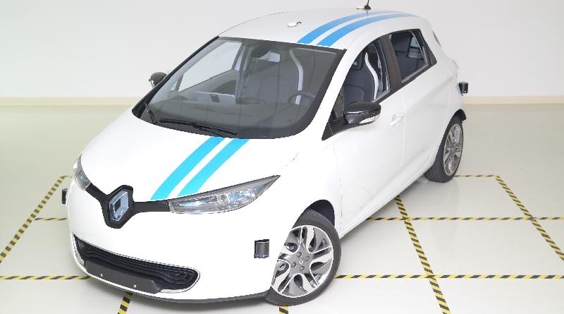 Renault Open Innovation Lab della Silicon Valley Zoe Callie autonoma
