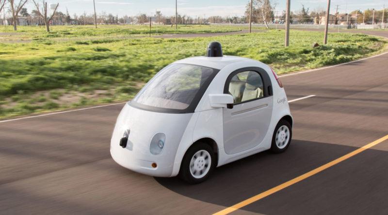 L'auto a guida autonoma di Google (Source: Google media website)