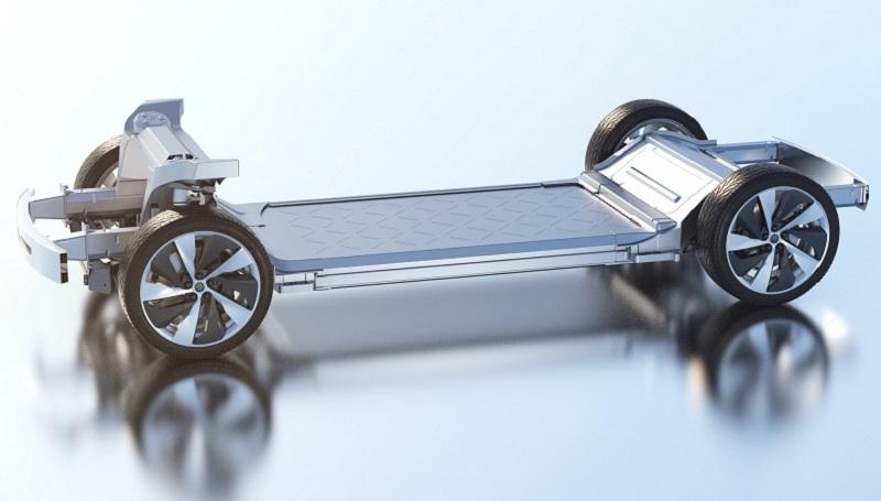 La Variable Platform Architecture di Faraday Future è uno chassis personalizzabile (Photo source: Faraday Future media website).