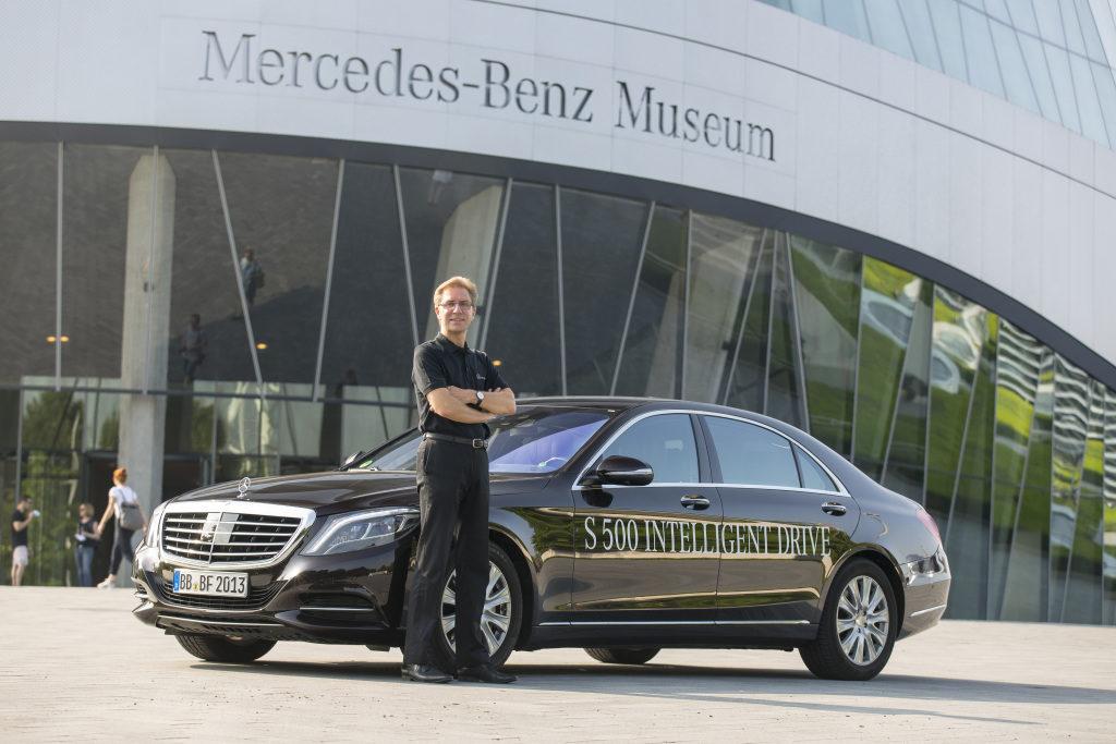 Mercedes-Benz Classe S Intelligent Drive Bertha