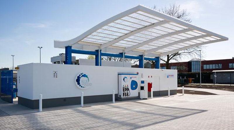 Toyota stazione rifornimento idrogeno