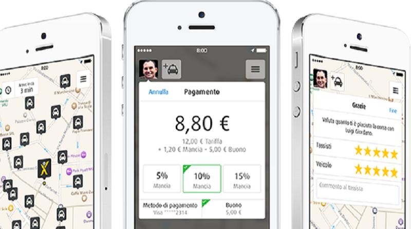 MyTaxi ride-hailing app