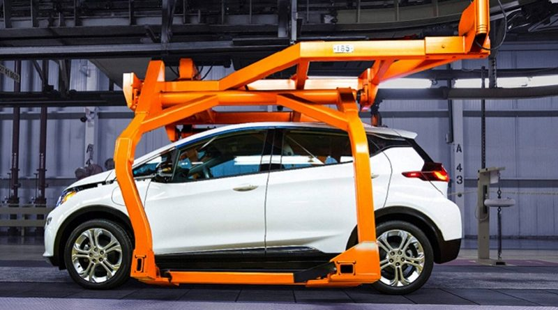 GM Bolt Ampera-e assembly plant