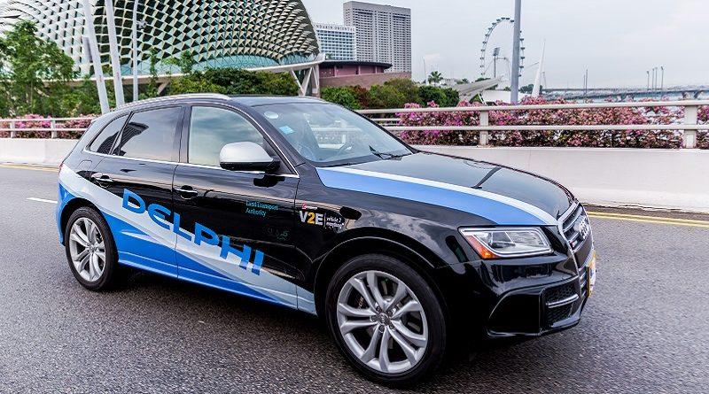 I robo-taxi di Delphi accendono i sensori a Singapore