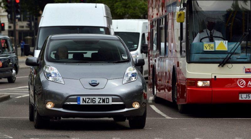 Nissan Leaf Uber Londra