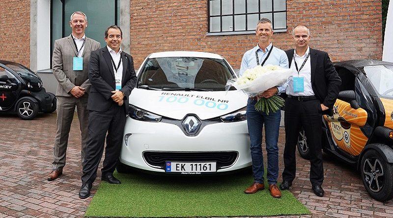 renault 100.000 veicoli elettrici