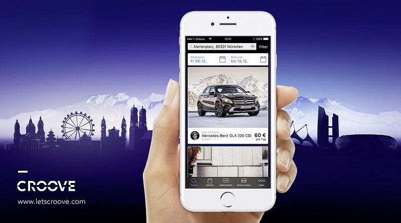 Daimler car sharing peer-to-peer Croove