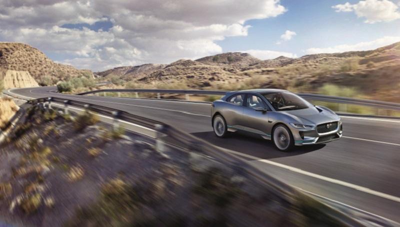 Jaguar SUV elettrico I-Pace