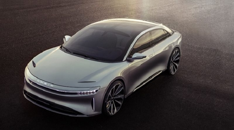 Lucid Motors Air Fremont California