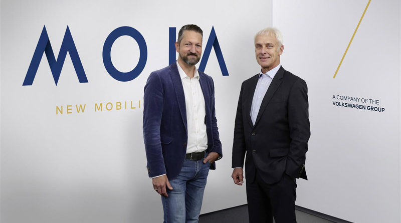 MOIA car sharing mobility Volkswagen