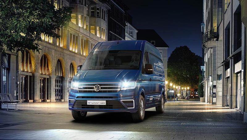 Volkswagen e-crafter elettrico
