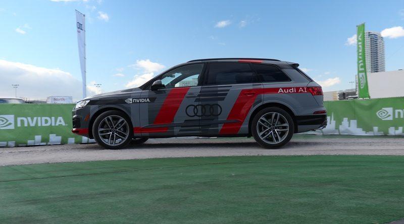 Nvidia AI Audi Q7 2020 Livello 4 SAE