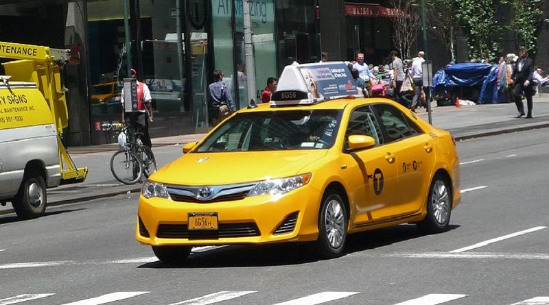 Taxi Manhattan NYC MIT minivan Bridji