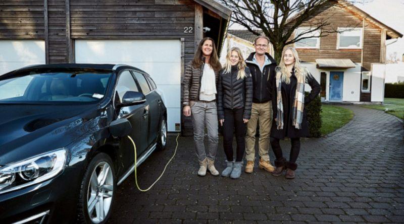 Hain test Volvo DriveMe 2017