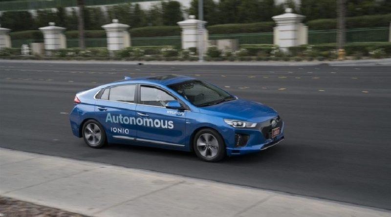 Hyundai Ioniq CES 2017 Las Vegas