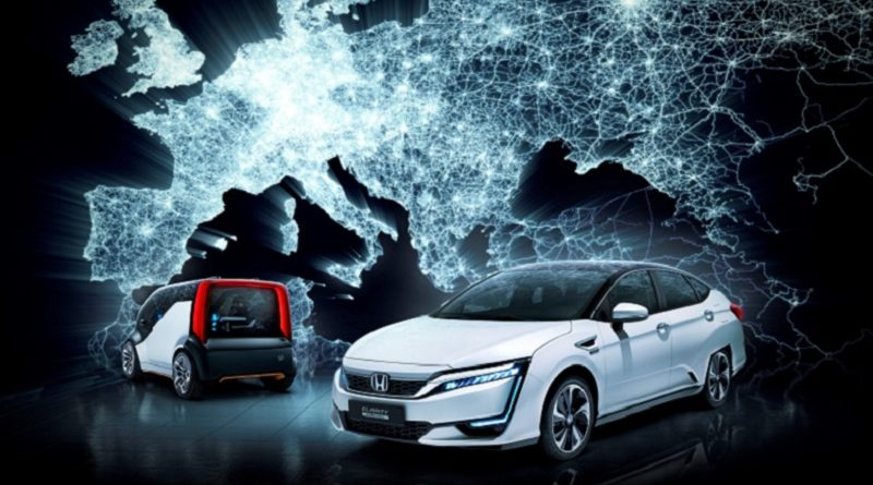 Honda Ginevra 2017 futuro elettrico