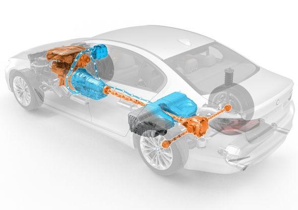 BMW 530e ibrida plug-in