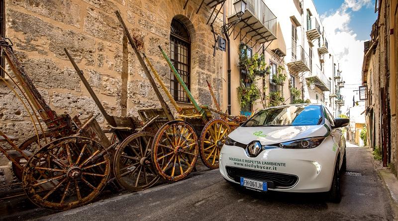 Renault Zoe Sicilia Sicily by Car