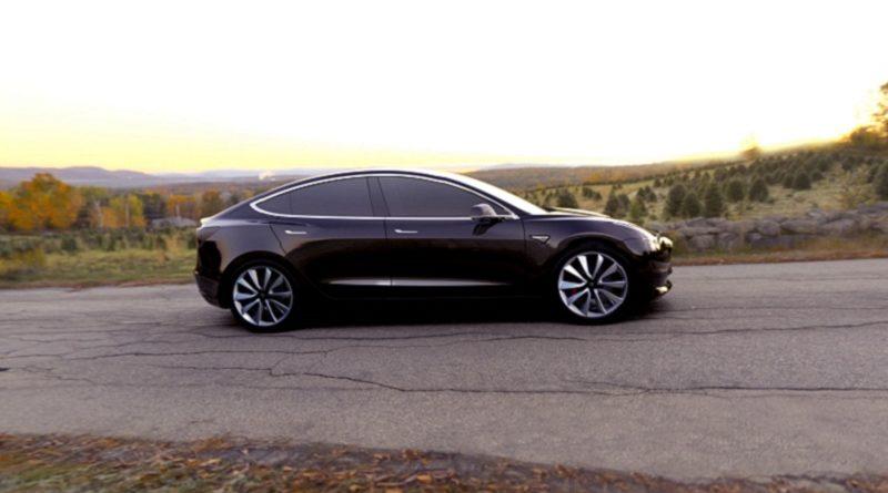 Tesla Model 3 J.D.Power