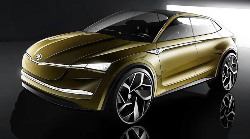 concept Škoda Vision E salone Shanghai 2017