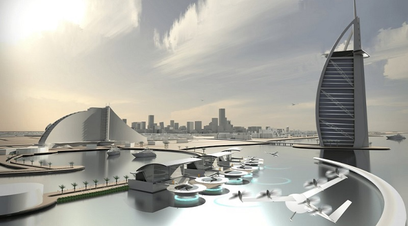 flying taxi time