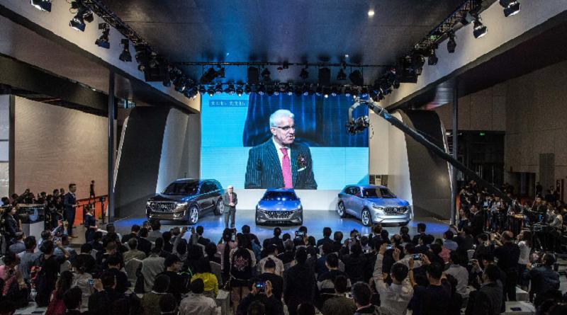 Hybrid Kinetic Group micro-turbina SUV Shanghai