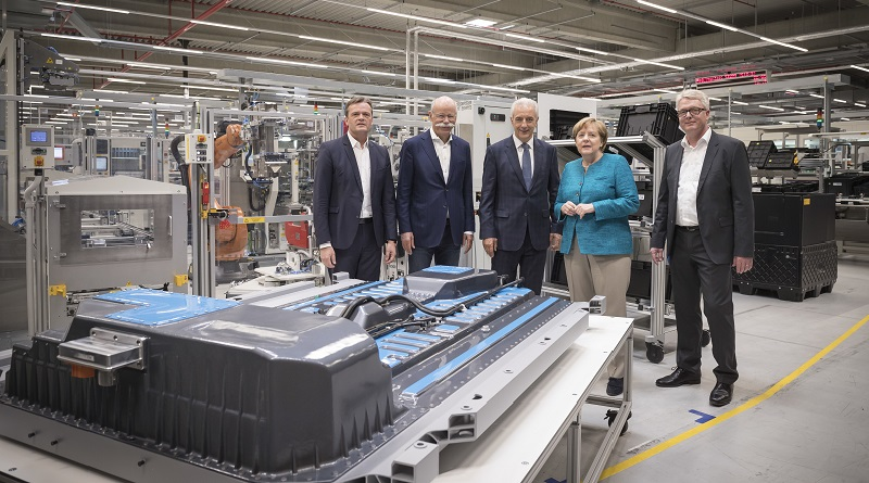 merkel fabbrica batterie kamenz