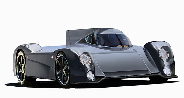 lancio Panoz EV GT Le Mans 2017