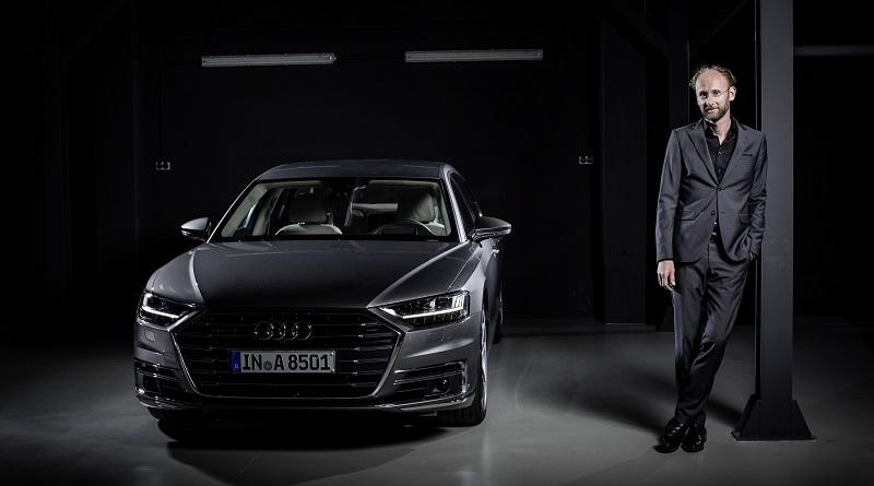 Audi A8 designer Marc Lichte