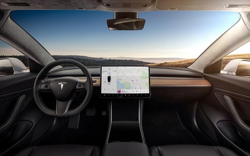 interni Tesla Model 3