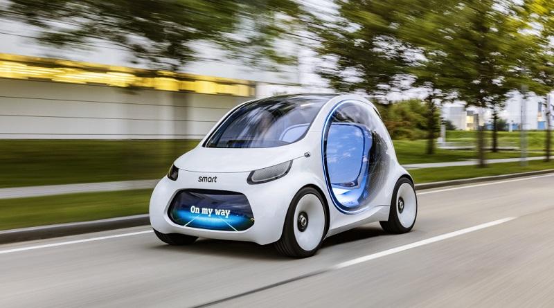 Salone Francoforte concept Smart Vision EQ Fortwo