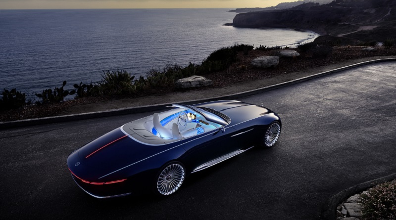 A Pebble Beach la Vision Mercedes-Maybach 6 Cabriolet