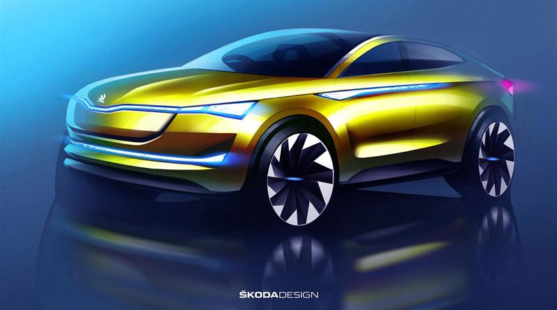 debutto europeo concept Skoda Vision E a Francoforte