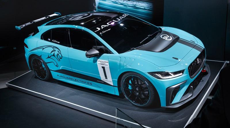 Jaguar I-Pace eTrophy lancio Francoforte 2017