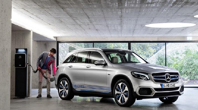 Mercedes-Benz GLC F-Cell salone Francoforte