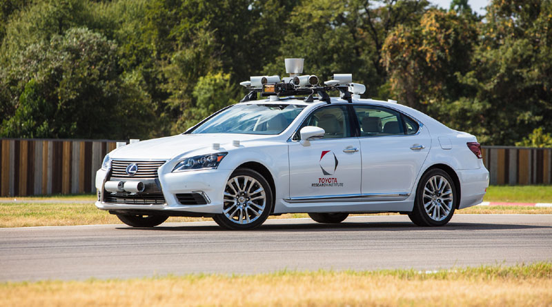 sistemi di guida Toyota piattaforma 2.1 TRI