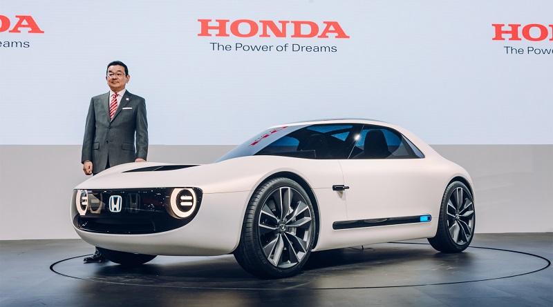 Honda Sports EV Concept salone di Tokyo 2017