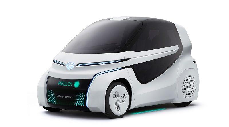 Toyota Concept-i Ride salone di Tokyo 2017