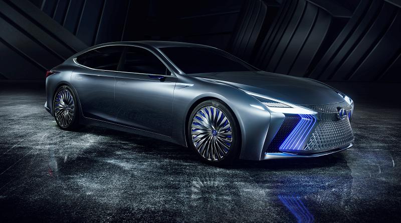 Lexus LS+ Concept salone Tokyo 2017
